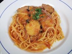 スパゲッティーナスのナポリ風