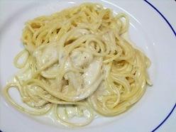 4種のチーズのスパゲッティー