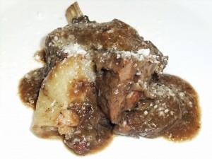 仔羊肉のアッグラッサート