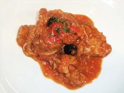 若鶏のトマト煮込みローマ風